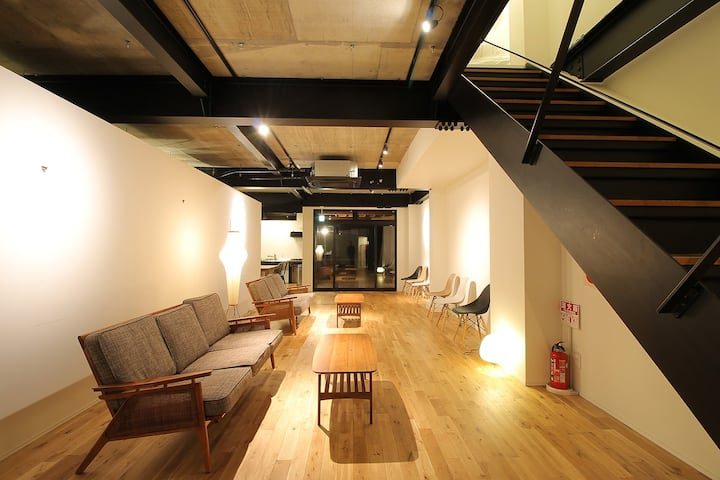 Small Hotel 3 min from Miyajima Pier Bed 36