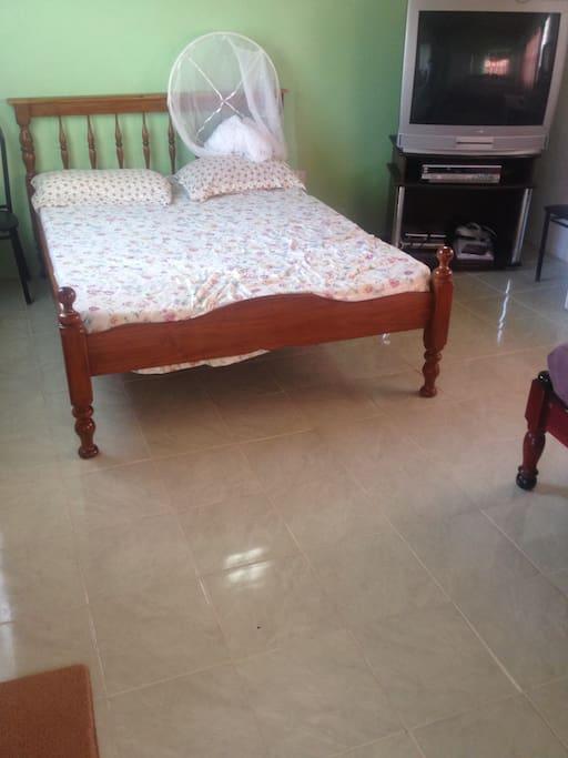 Large double room sleeps 4