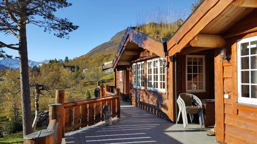 Large and cosy cabin in excellent location