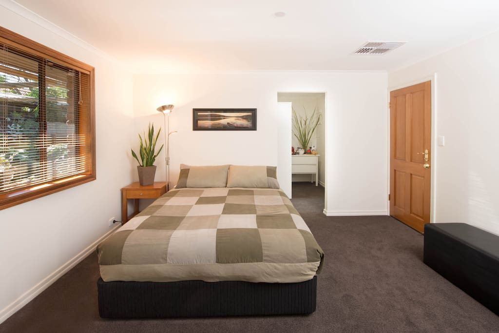A luxury suite offering privacy, tranquility and most of all quality comfort