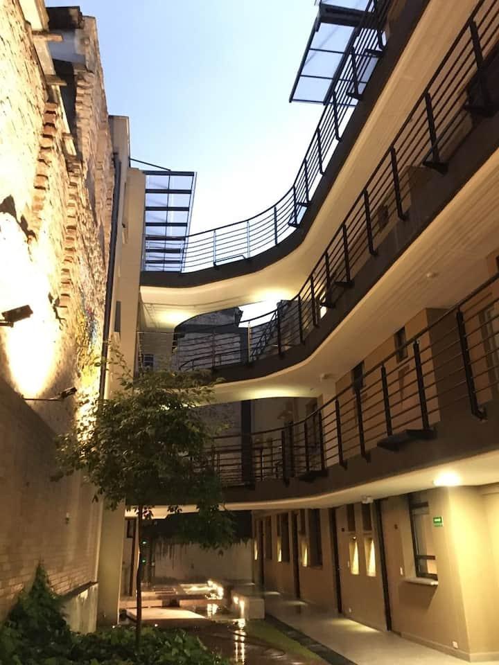 Apartaestudio, nuevo y moderno en La Candelaria