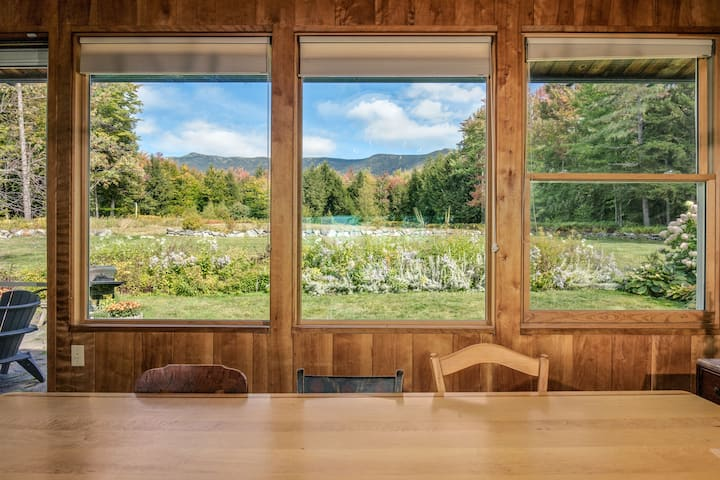Spectacular Mt Mansfield House on 100 Acres