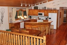 Nice big kitchen for those groups to gather and share a meal