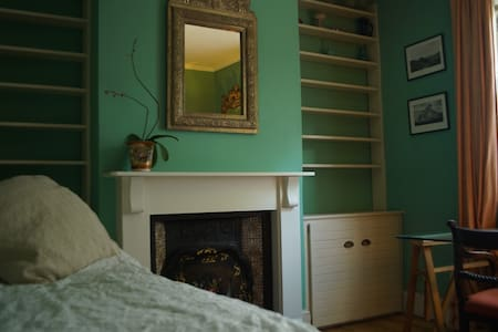 Centrally located room opposite water meadows