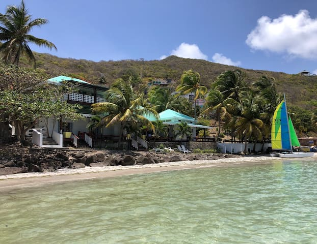 Bequia Beachfront Luxurious and Authentic Villa