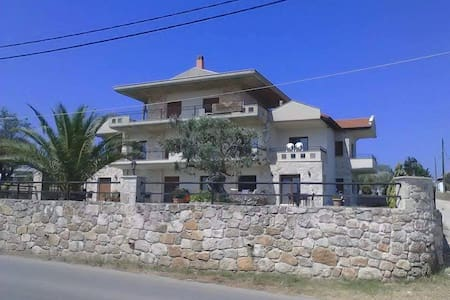 Amazing house with great sea view in Afitos! - Afytos - Condominium