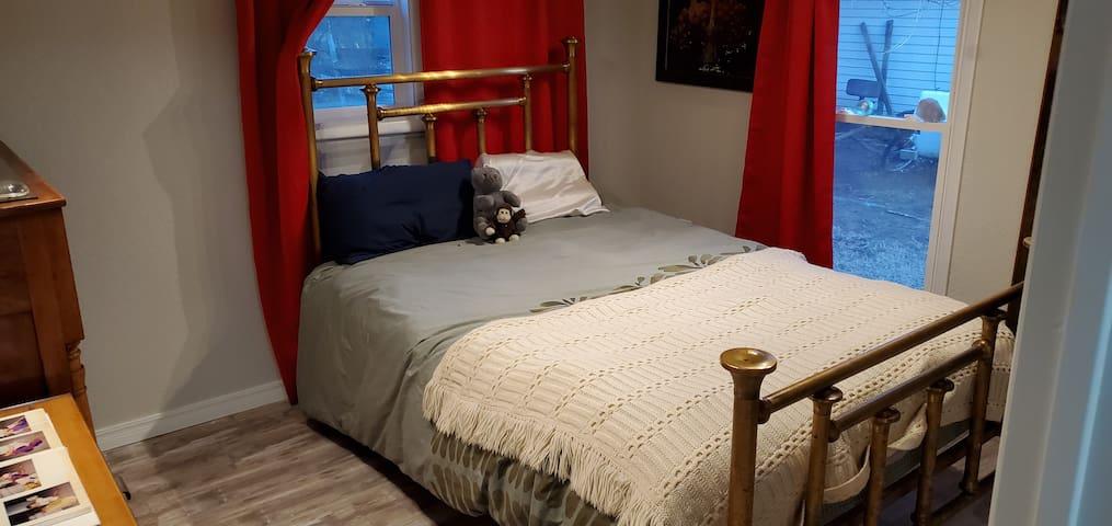 Brass Master Bed