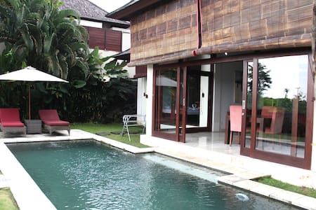 Paddy View Villa in authentic Bali, Sahaja 3/2bed - Villa