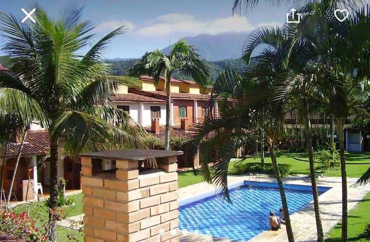 Casa no Condomínio Vila do Sol- Massaguaçu