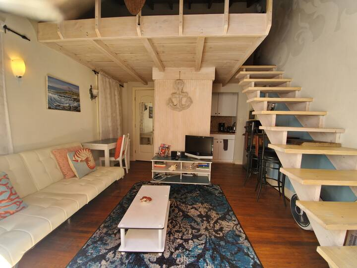 (-)✔SAND CASTLE Studio Loft @ Venice short stay ok