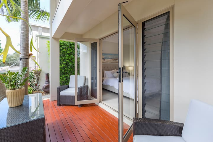 Enjoy the afternoon breezes on your private deck