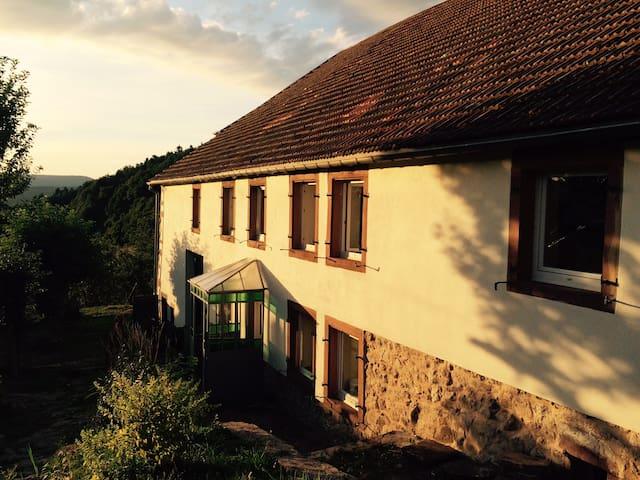 Maison de montagne au coeur des Vosges