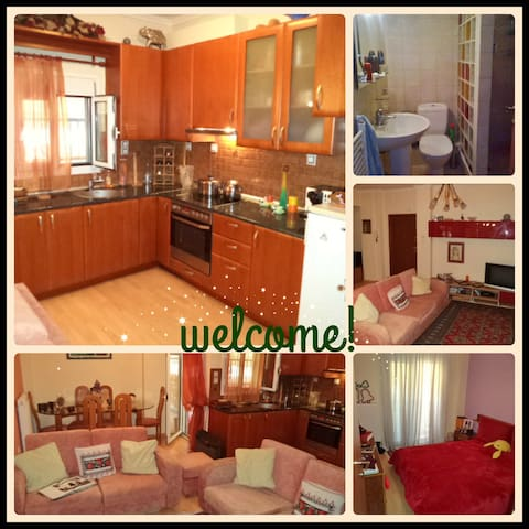 Lovely apartment in the East side of Thessaloniki