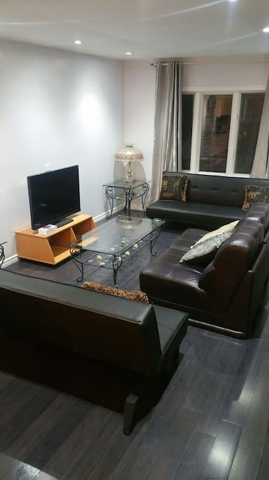 Living space main floor