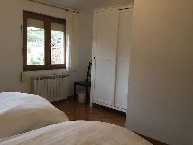 The double en suite bedroom