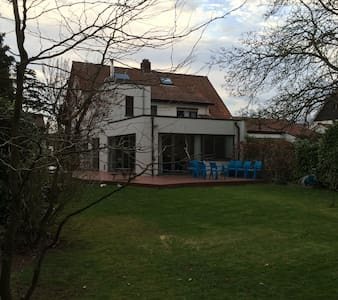 quiet house for families, big garden, near Antwerp - Hemiksem