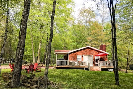 Enjoy a relaxing stay in the Pocono's