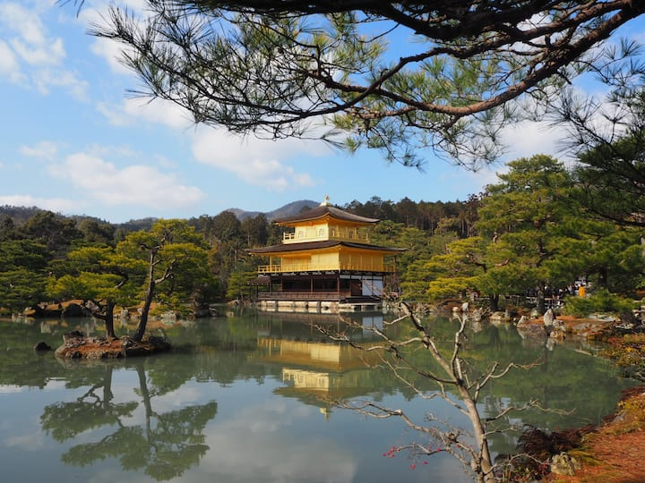 See Kinkakuji and other famous places