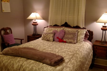 Lilac Room, Queen Bed, Garden View - Tacoma - Hus
