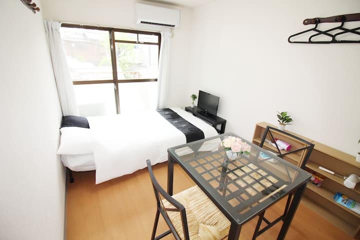 Cozy apartment up to 3 ppl / Shinjuku central area - Nakano-ku - Apartemen