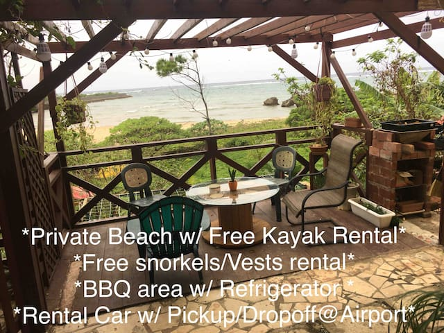 Ken's Beachfront Lodge3 & FreeKayak/Blue Cave
