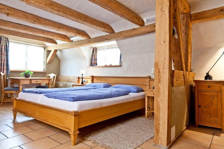 Naturhotel Holzwurm, (Sasbachwalden), Doppelzimmer mit Dusche und WC