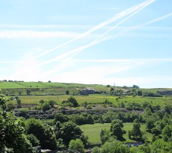 A cosy studio flat in the hills of West Yorkshire - Sowerby Bridge - Wohnung