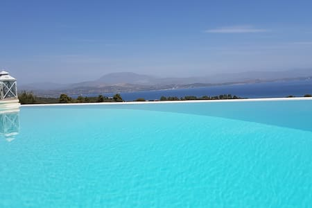 Big Blue Villa Porto Heli with Amazing View