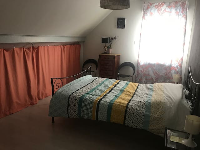 Loue chambre dans maison calme à 2 min de Belfort