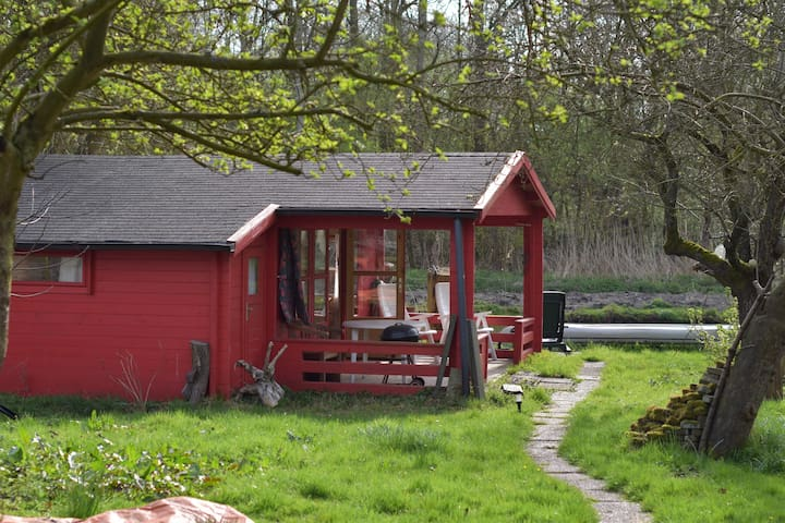 De red hut - Zwartewaal - Casa