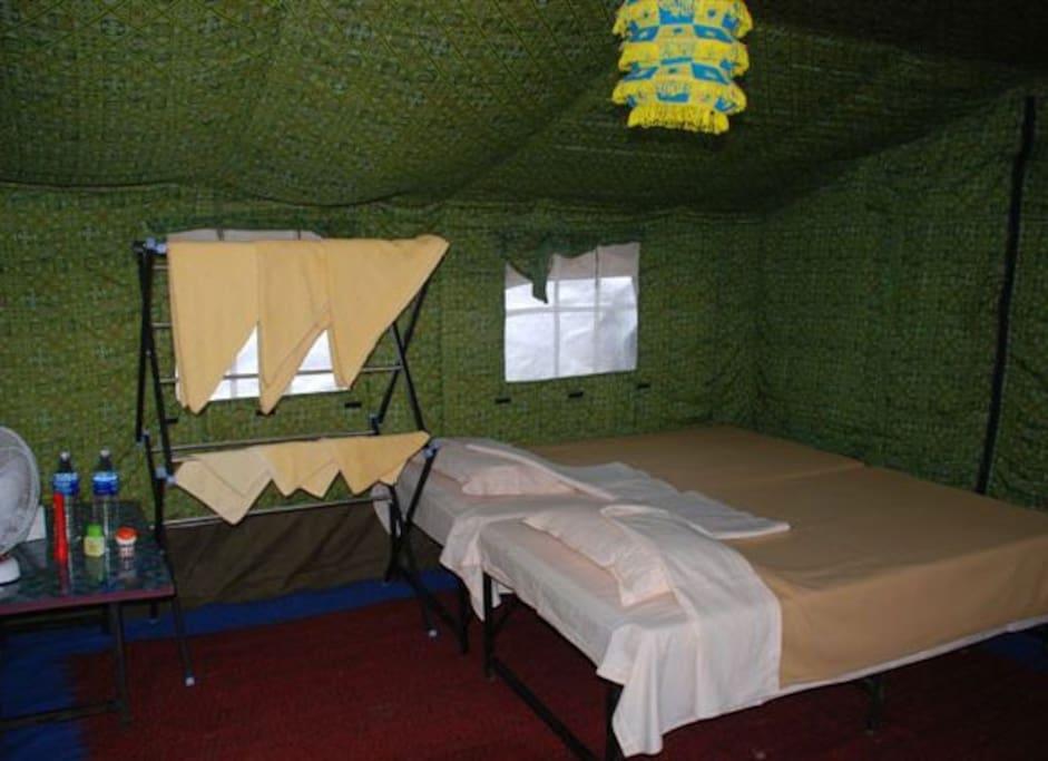 Swiss Tent Rooms at Nature Camp Bhitarkanika Retreat