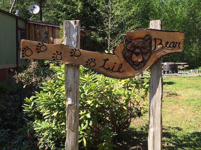 Three C's Retreats Lil Bear Conrad at Mt Rainier