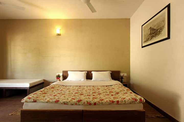 Deluxe room in Sasan Gir