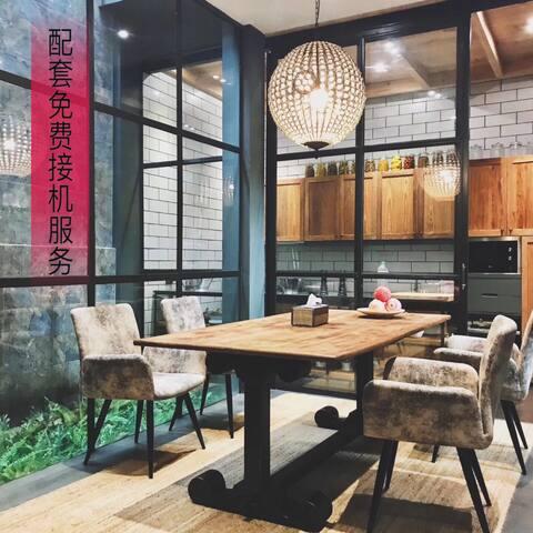曼谷市中心新装修别墅&配有电影房&交通方便&预订两晚起,配套免费接机服务