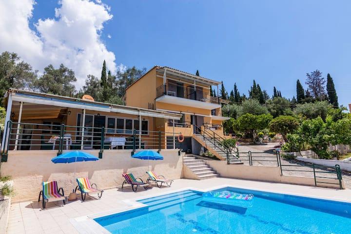 Ipsos Pool Apartments/ Villa Maria /2 BD Apt