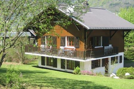 Chalet pour l'été proche du Lac - 摩瑞龙 (Morillon) - 牧人小屋