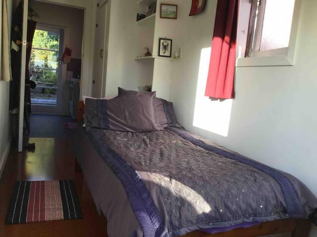 Very sunny room.