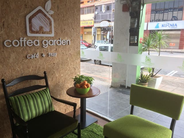 Coffea Garden, cafe & stay - Melaka - Butikový hotel