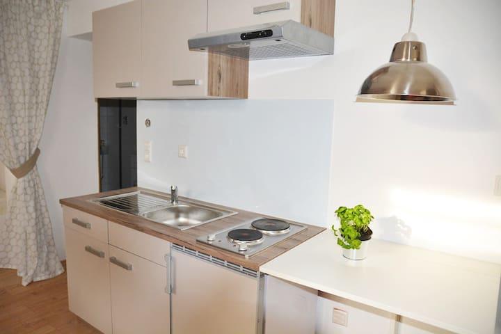 New 1,5-room-Apartment 30qm, Stuttgart (Vineyards) - Stuttgart - Apartament