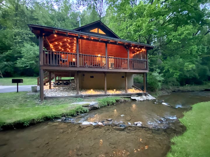 Creek Front Cabin | Pigeon Forge Gatlinburg