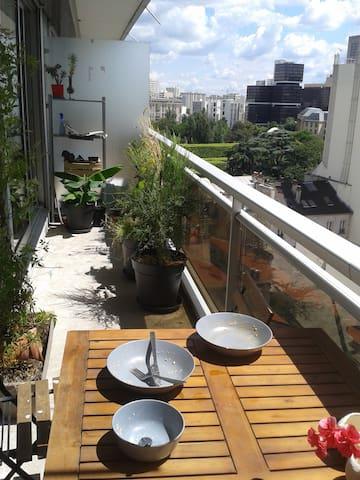 perfect situation 64m2 terraces parking 2 bedrooms - Paris-13E-Arrondissement - Huoneisto