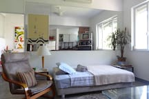 Living room Single Bed 1 pax