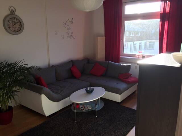 Schöne Wohnung Nähe Flughafen / Flat near airport - Hamburg - Apartment
