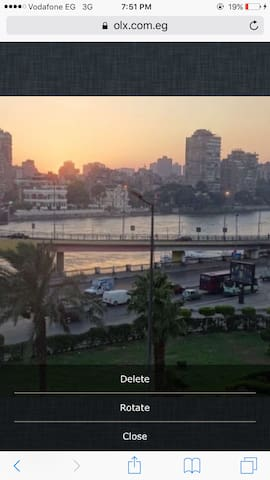 Apartment with a unique view of Nile River - Cairo - Apartment