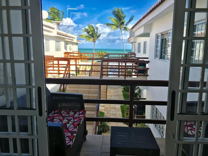Pegadas na Areia - Beachfront 1st floor apartment