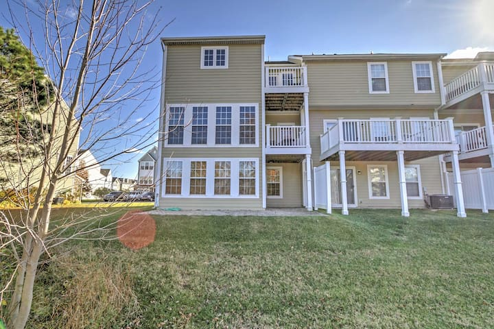 NEW! 4BR Millville Townhome Near Bethany Beach!