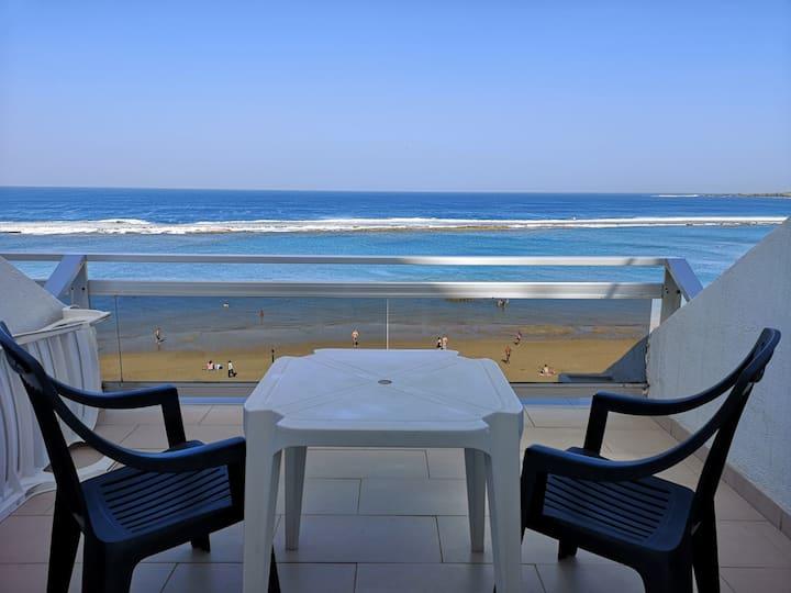 Las Canteras Beach-Seafront apartment-Marsin playa