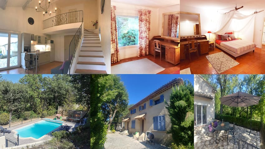 Charming 1 bedroom duplex in Luberon. Pool&Nature