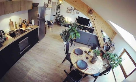 Cosy apartment in the heart of Haut-Jura