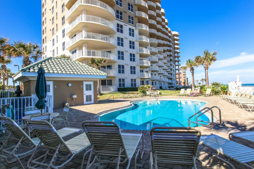 Luxurious Oceanfront Condo W Shared Pool And Hot Tubs Snowbirds Welcome Houses For Rent In